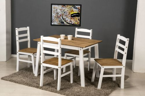 Santos Dining Set WHITE